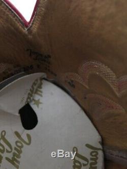 Vtg El Rey Tony Lama Womens Sx 6 1/2 Ostrich Boots VERY RARE