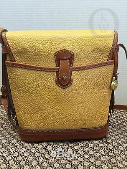 VtgDooney & Bourke AWL Palomino R76 Cavalry SpectatorShoulder Bag #16061K
