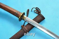 WW2 Vintage Japanese Cavalry Officer Saber Nco Sword Samurai Katana Signed repr