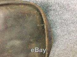 World War I Era Vintage 1917 Leather Cavalry Horse Saddle Bags